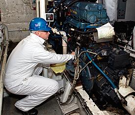 Marine Engine Service Maintenance Repowers Testing. Tacoma Diesel ...